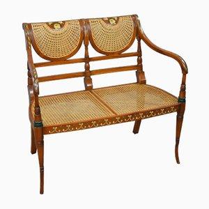 Mid-Century Mahogany Sofa, 1950s