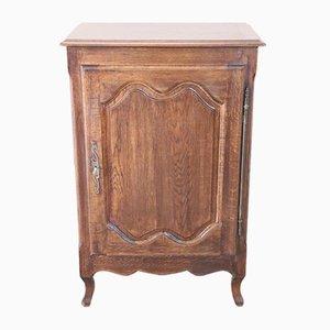Vintage Solid Oak Cabinet, 1930s
