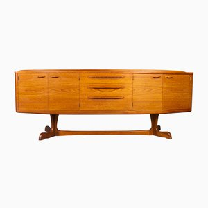 Scottish Teak Sideboard by Val Rossi for Beithcraft, 1970s