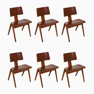 Esszimmerstühle von Robin & Lucienne Day, 1960er, 6er Set
