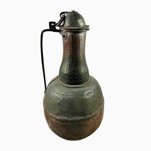 Antiker spanischer Behälter aus Kupfer