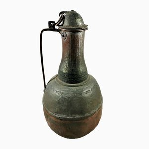 Antique Spanish Copper Jug
