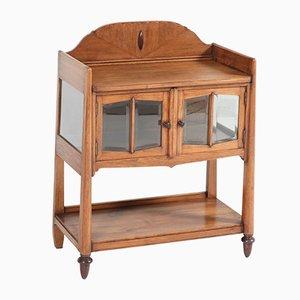 Art Deco Oak Dutch Tea Cabinet from S. Speelman Wz, 1920s