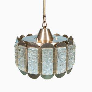 Lampe à Suspension en Verre de Vitrika, années 60
