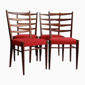 Chaises de Salle à Manger Modèle ST09 par Cees Braakman pour Pastoe, années 60, Set de 4