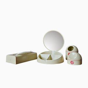 Italienisches Toilettenartikel Set von Makio Hasuike für Gedy, 1980er