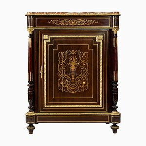 Antique Napoleon III Style Wood, Bronze, and Brass Dresser