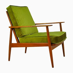 Antimott Cherrywood Armchair from Walter Knoll/Wilhelm Knoll, 1950s