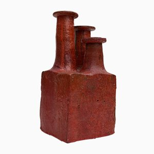 Dänische Vase von Ribe Keramik, 1970er