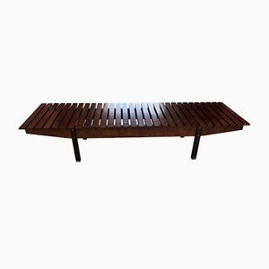 Model Mucki Rosewood Bench by Sergio Rodrigues, 1958