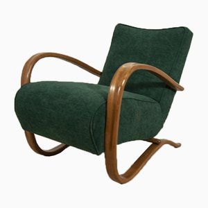 Model H-269 Lounge Chair by Jindřich Halabala for UP Závody, 1930s