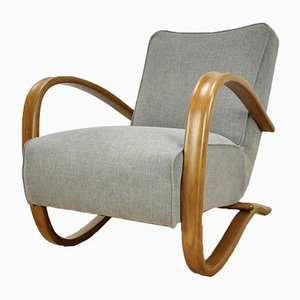 Model H-269 Lounge Chair by Jindřich Halabala for UP Závody, 1950s