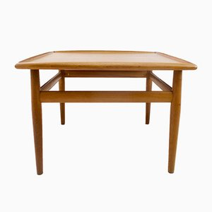 Tavolino da caffè Mid-Century in teak di Grete Jalk per Glostrup