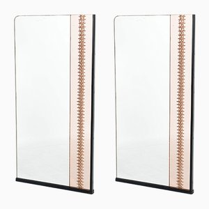 Italian Mirrors, 1940s, Set of 2
