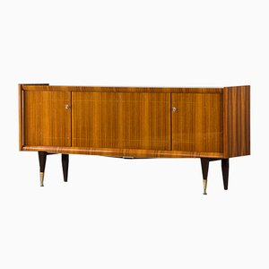 Vintage French Macassar Ebony Sideboard