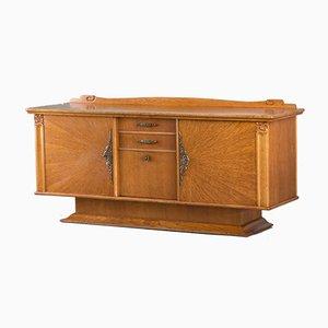 Vintage French Oak Veneered Sideboard
