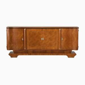 Vintage French Rosewood Marquetry Sideboard