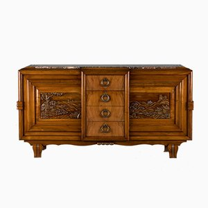 Vintage French Rosewood Sideboard