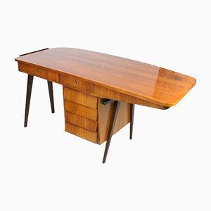 Mid-Century Italian Rosewood Desk