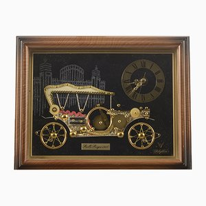 Antique-Style Car Clock from Rolls Royce, 1980s