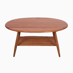 Tavolino da caffè Mid-Century in olmo di Lucian Ercolani per Ercol, anni '60