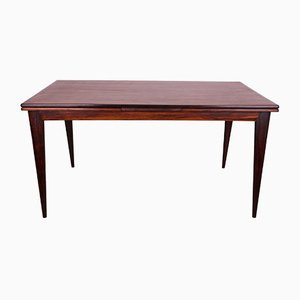 Model 254 Rosewood Dining Table by Niels Otto Møller for J.L. Møllers, 1950s