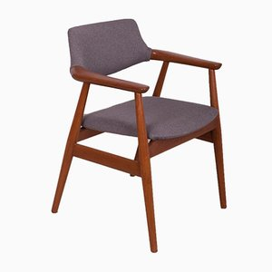Modell GM11 Armlehnstuhl aus Teak von Svend Åge Eriksen für Glostrup, 1950er