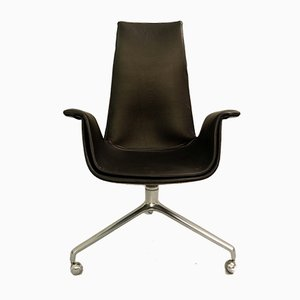 Desk Chair by Preben Fabricius & Jørgen Kastholm for Kill International, 1960s