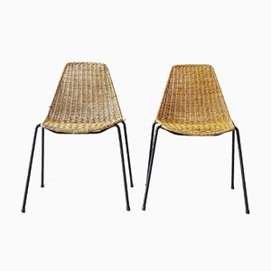 Dining Chairs by Gian Franco Legler, 1952, Set of 2