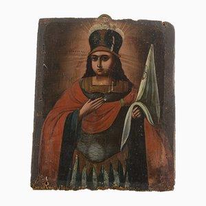 Antike russische Ikone