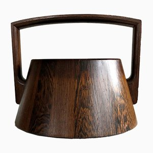 Danish Rosewood and Wenge Ice Bucket by Jens Quistgaard, 1960s