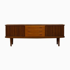 Low Danish Teak Sideboard, 1960s