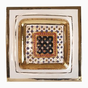 Ceramic Plate by Georges Pelletier, 1970s