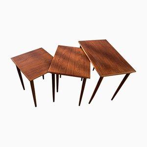 Teak Nesting Tables, 1960s