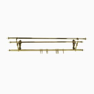 Art Nouveau Brass Rack