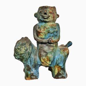 Statuetta di Alvino Bagni per Bagni Ceramiche, anni '60