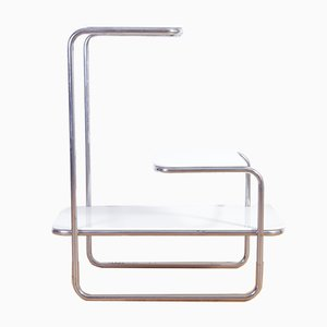 Vintage Model B136 Steel Shelf by Emile Guyot for Thonet, 1930s