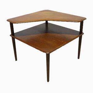Tavolino Minerva in teak di Peter Hvidt & Orla Mølgaard-Nielsen per France & Søn/France & Daverkosen, anni '50