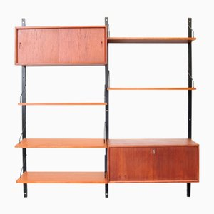 Danish Wall Unit by Poul Cadovius for Royal System, 1960s