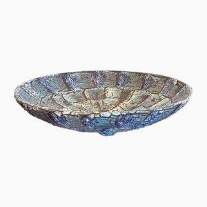 Scodella o centrotavola in ceramica di ES Keramik, anni '60