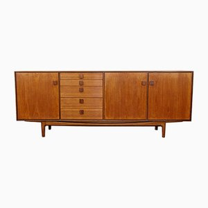 Rosewood and Teak Credenza by Ib Kofod Larsen for G-Plan, 1960s