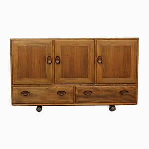 Elm Sideboard by Lucian Ercolani for Ercol, 1970s