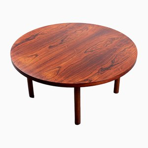 Table Basse Ronde en Palissandre, 1960s