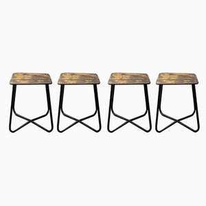 Stools, 1960s, Set of 4