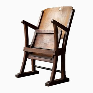 Vintage Theater Folding Chair, 1960s