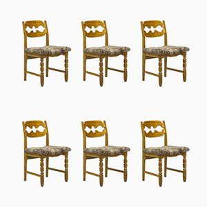 Dining Chairs by Henning Kjærnulf for Nyrup Møbelfabrik, 1960s, Set of 6