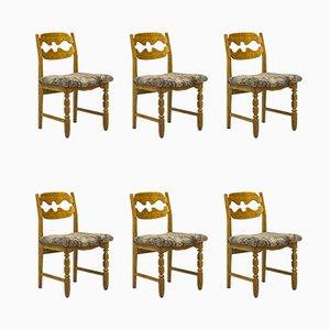 Sedie da pranzo di Henning Kjærnulf per Nyrup Møbelfabrik, anni '60, set di 6