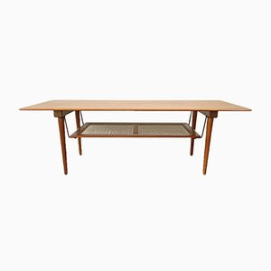 Teak Model FD 516 Coffee Table by Peter Hvidt for France & Søn / France & Daverkosen, 1960s