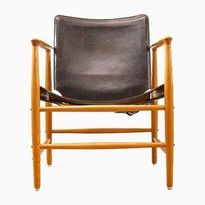 Mid-Century Safari Sessel von Kai Lyngfeldt Larsen für Bovirke