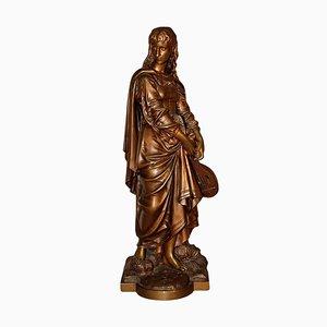 Antike Skulptur aus Bronze von Eutrope Bouret